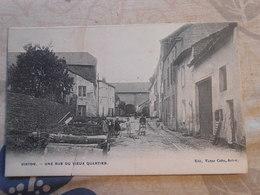 Cpa Virton Rue Du Vieux Quartier 1909 - Virton