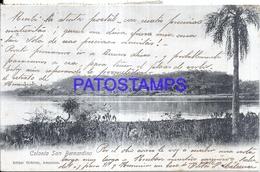 124791 PARAGUAY SAN BERNARDINO VISTA PARCIAL CIRCULATED TO URUGUAY POSTAL POSTCARD - Paraguay