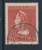NETHERLANDS, 1946 2G50c  Used, NVPH 347, Cat E20 - Period 1891-1948 (Wilhelmina)