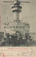 Warship ; Vordeck Eines Grossen Kreuzers , Germany , 1904 - Guerre