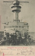 Warship ; Vordeck Eines Grossen Kreuzers , Germany , 1904 - Warships