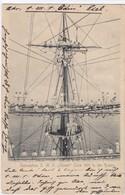 """Warship ; Seekadetten S.M.S. """"Stoch"""" Crew 1901 In Den Raaen , Germany , 1902 - Guerre"""