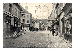 Ornans La Grande Rue - France