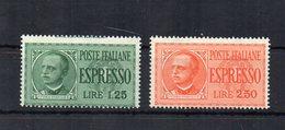 Italia - Regno - 1932 - Espressi Tipo Imperiale - Effige Di V.E. III° - 2 Valori - Nuovi ** - (FDC18590) - 1900-44 Victor Emmanuel III.