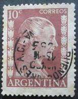 Argentine N°519 EVA PERON Oblitéré - Famous Ladies