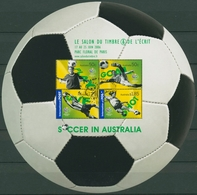 Australien 2006 SALON DU TIMBRE Paris Fußball WM Block 61 I Gestempelt (C24235) - Blocs - Feuillets