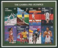 Gambia 1995 Olympische Spiele Atlanta 2147/54 K Postfrisch (C22105) - Gambia (1965-...)