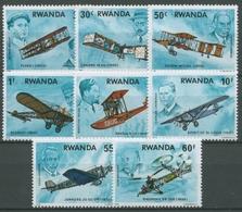 Ruanda 1978 Geschichte Der Luftfahrt Flugzeuge 952/59 Postfrisch - Rwanda