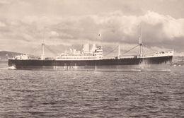 MS Salaverry Pacific Steam Navigation Company Ship Real Photo Postcard - Boten