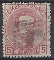España U 0118 (o) Amadeo. 1872. Foto Exacta - 1872-73 Reino: Amadeo I
