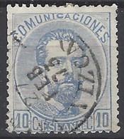 España U 0121 (o) Amadeo. 1872. Foto Exacta - 1872-73 Reino: Amadeo I