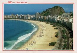 BRASIL. RIO DE JANEIRO. COPACABANA BEACH. CPC-101-86A. (536) - Copacabana