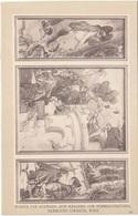 ZUM MÄRCHEN VOM HIMMELSCHLÜSSEL - Künstlerkarte 1905 - Märchen, Sagen & Legenden