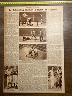 1932 1933 M BOXE BOXEUR SCHMELING WALKER LLUTCH VIETO LOCATELLI DOMGOERGEN EUGENE HUAT EDDIE RAN - Vieux Papiers
