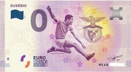 Billet 0 Euro  PORTUGAL EUSEBIO - EURO