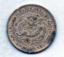 CHINA - KIRIN PROVINCE, 20 Cents, Silver, Year 1898-1908, KM #181 - China