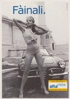 "CARTOLINA PUBBLICITA' ADVERTISING PROMOCARD N°1801 ""ALTA VISTA"" - Pubblicitari"