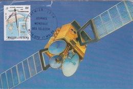 FDC - WALLIS ET FUTUNA - MATA UTU PREMIER JOUR 17 MAI 1989 - JOURNNE MONDIALE DES TELECOM - Covers & Documents