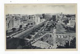 CPA - Carte Photo - Italie - Roma - Via Dell'Impero - Panoramic Views