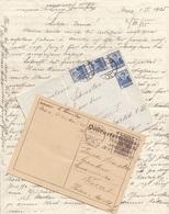 ÖSTERREICH BRIEF 1935 Mit 4 X 6 Groschen Frankiert (Brief Mit Inhalt) Gel.nach Wien - Briefe U. Dokumente