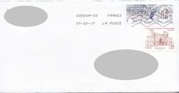 FRANKREICH Brief 2016 - Mit 2 Fach MIF - France