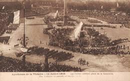 Guerre 1914 Paris 1919 Défilé Des Serbes - Serbia