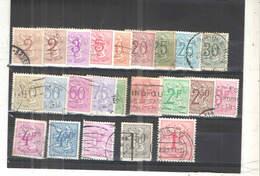 Belgio PO 1951/75 Leone Rampante   Scott.403/426+See Scan On Album Francia; - Usati