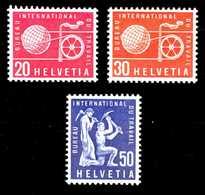 SCHWEIZ-BIT Nr 100-102 Postfrisch X135C0A - Dienstzegels