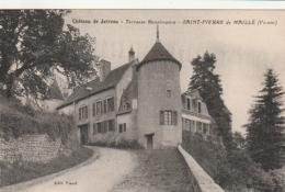 *** 86  ***   Château De Jutreau Terrasse Renaissance SAINT PIERRE De MAILLE  - écrite TTB - Frankrijk