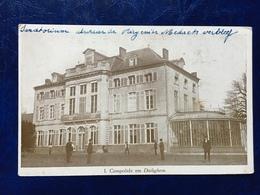 """DIELEGEM--cpa--""""le Sanatorium Du Docteur Titeca"""" Avec Petite Histoire - Jette"""