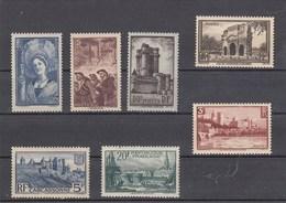 France - 1938 - N° YT 388/94** - Sujets Divers - Nuovi