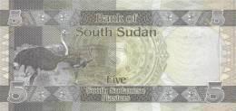 SOUTH SUDAN P.  1/3 SET 2011 UNC (3 Billets) - Sudan Del Sud