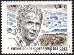 Oblitération Cachet à Date Sur Timbre De France N° 5265 - Cinéaste De Guerre, Pierre Schoendoerffer. (parachutistes) - Used Stamps
