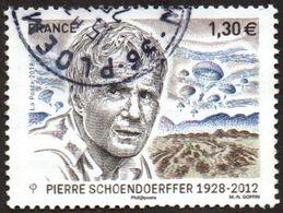 Oblitération Cachet à Date Sur Timbre De France N° 5265 - Cinéaste De Guerre, Pierre Schoendoerffer. (parachutistes) - Frankreich