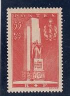 France - 1938 - N° YT 395** - Monument à La Gloire Su Service De Santé Militaire à Lyon - Nuovi
