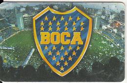 ARGENTINA(chip) - C A Boca Juniors, Telefonica Telecard(F 119), 07/98, Used - Argentina