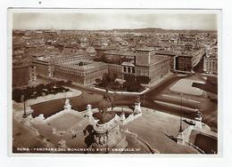 CPA - Carte Photo - Italie - Roma - Panorama Dal Monumento A Vittorio Emanuele II - Panoramic Views
