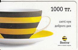 KAZAKHSTAN - Beeline Prepaid Card 1000 KZT, Used - Kazachstan