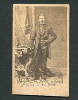 Fotografia Antiga Ministro ANTONIO MARIA FONTES PEREIRA De MELO - F.A.Gomes. Old CDV Photo PORTUGAL - Anciennes (Av. 1900)