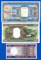Mauritanie  3  Billets - Mauritanie