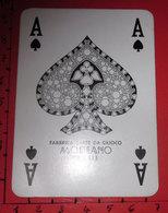 ASSO DI PICCHE MODIANO GADGET RISTORA CARTA DA GIOCO - Kartenspiele (traditionell)