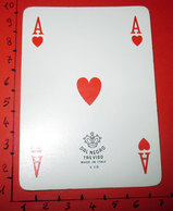 ASSO DI CUORI DAL NEGRO CARTA DA GIOCO - Kartenspiele (traditionell)