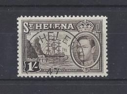 St..HELENA.....KING GEORGE VI.(1936-52)....1/-.......SG137....GOOD CDS......VFU... - Sainte-Hélène