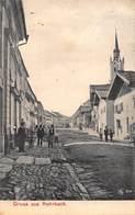 GRUSS Aus ROHRBACH AUSTRIA~STREET & VILLAGE VIEW ~ PHOTO POSTCARD 42525 - Rohrbach