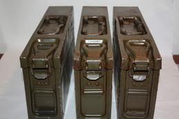 Caisse De Munitions MG-3 Allemande / état Moyen / Ammo Box - Equipement
