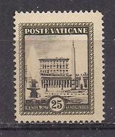 VATICANO 1933 GIARDINI E MEDAGLIONI SASS. 23 MNH XF - Nuovi