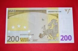 FRANCE - 200 EURO T001 F1 FRANCE T001 F1 - U02005167146 - UNC - FDS - NEUF - 200 Euro