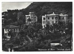 1531 - MONTEROSSO AL MARE LA SPEZIA PENSIONE AURORA 1950 CIRCA - La Spezia