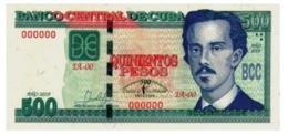 Cuba 2019 $500 Pesos Banknotes 500th Anniversary Of Havana's Fundation UNC - Cuba