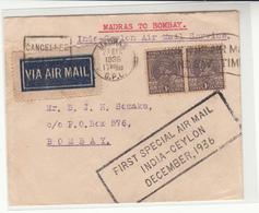 India / Ceylon / Airmail - India